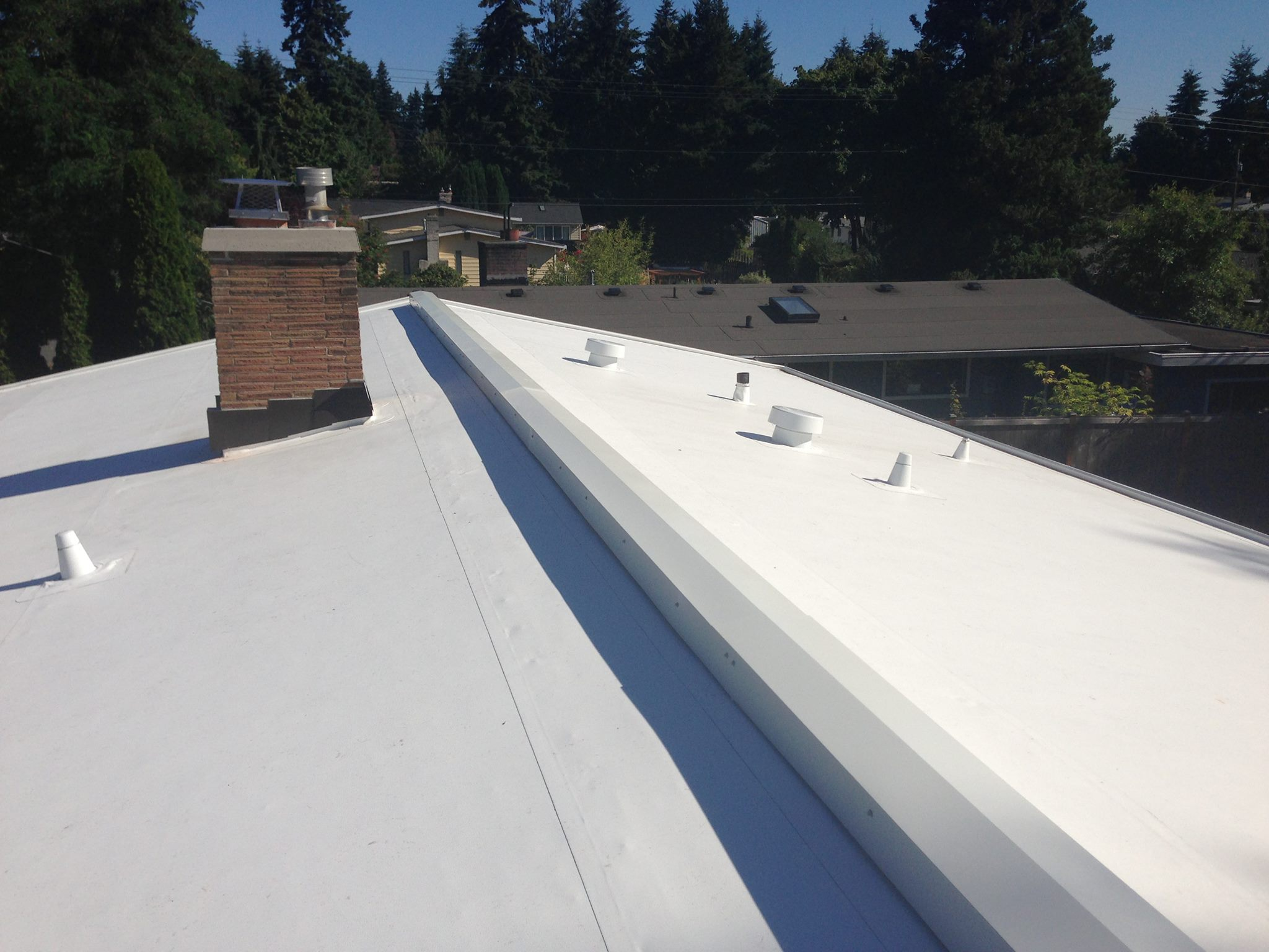 Edmonds Low Slope PVC Roof Project