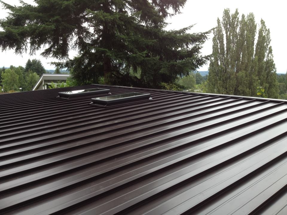 North Seattle Standing Seam Metal Roof Project Pinnacle
