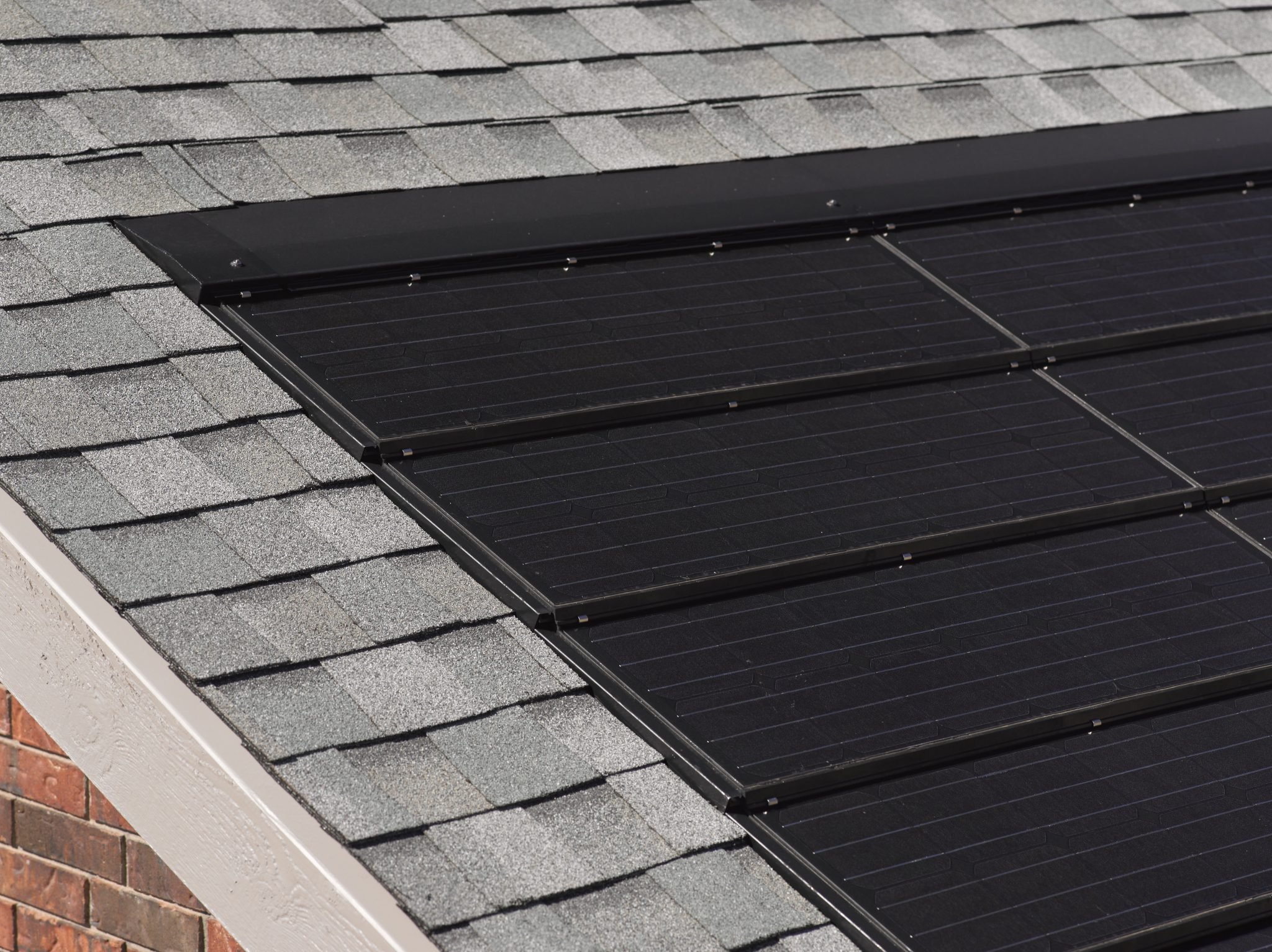 Solar panels that look like shingles