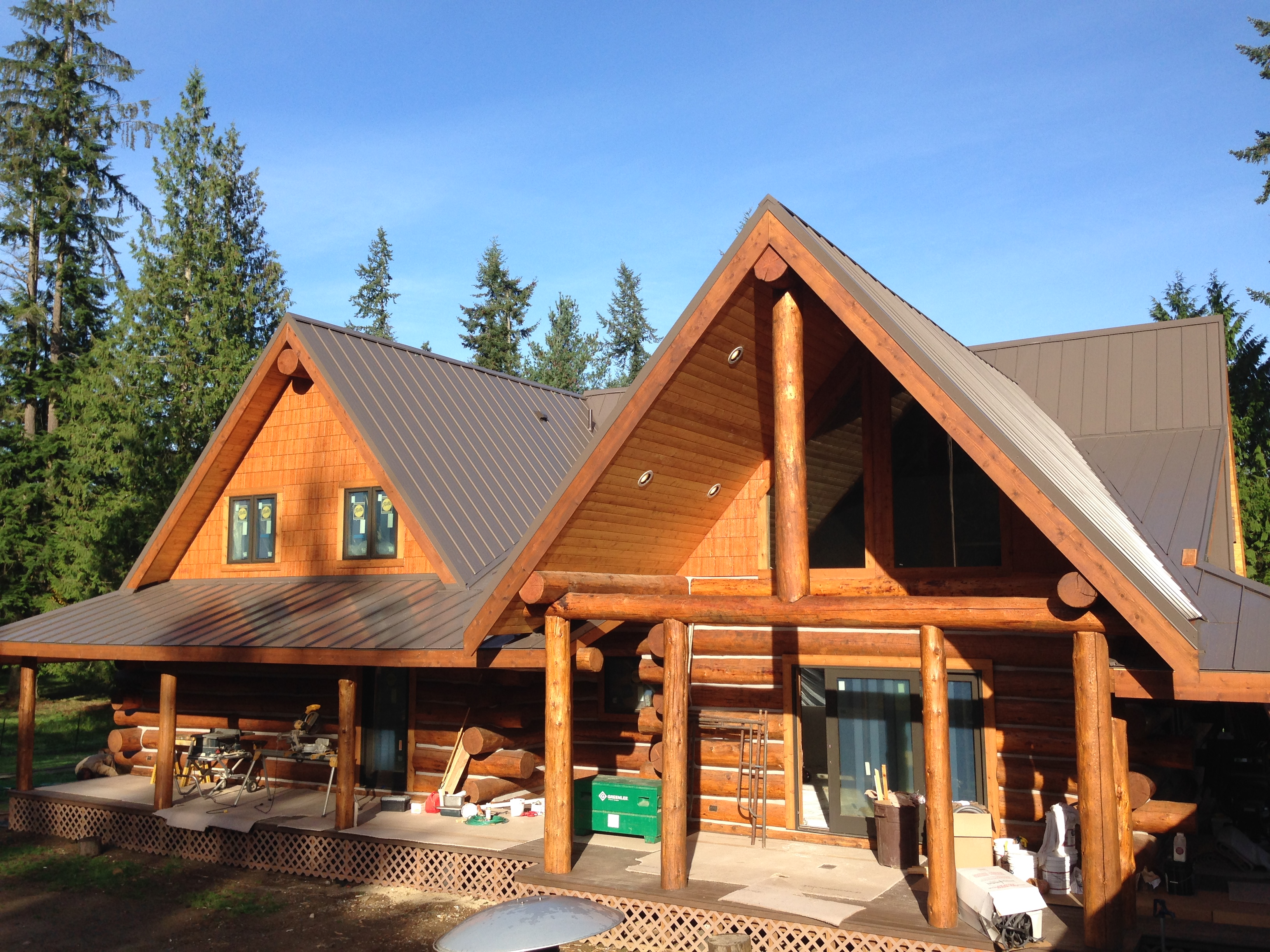 Snohomish Metal Roof Project Pinnacle Roofing