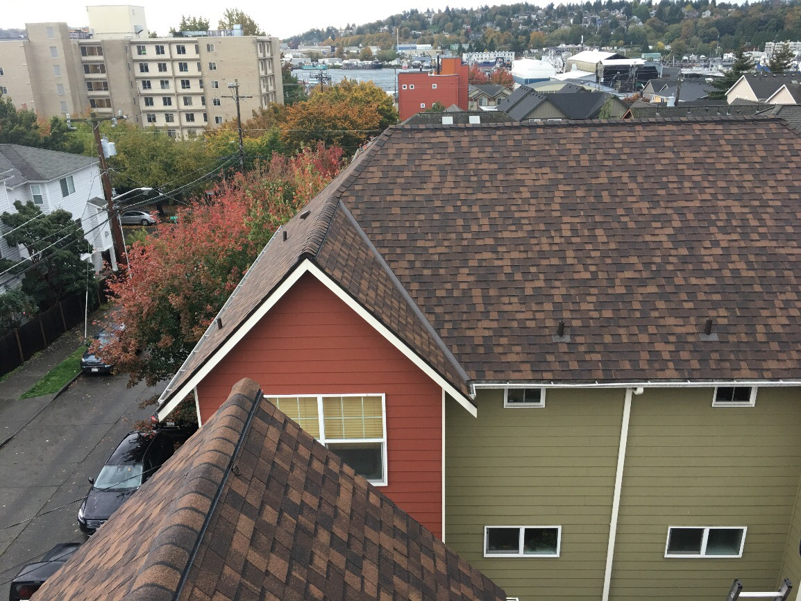 Seattle Multi Family Roof Project Pinnacle Roofing