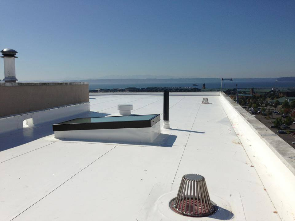 Everett Commercial Pvc Roof Project Pinnacle Roofing