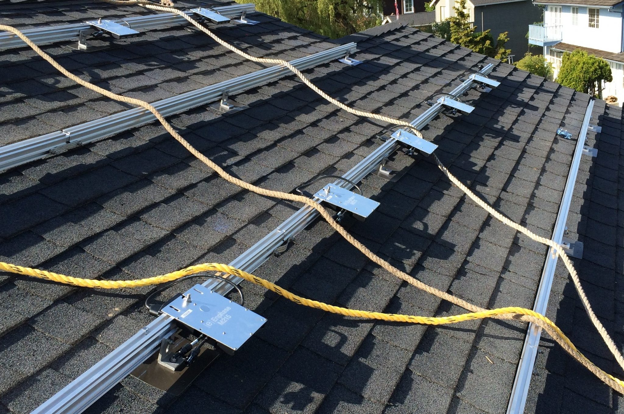 Bellevue Solar Roofing Project Clyde Hill