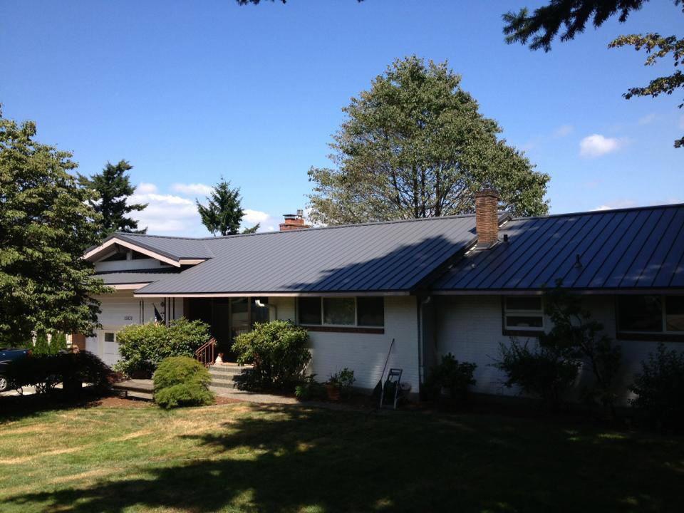 Standing Seam Metal Roof Project Pinnacle Roofing