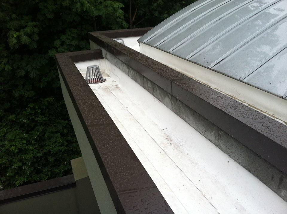 Built In Gutter Project Pinnacle Roofing Professionals Llc