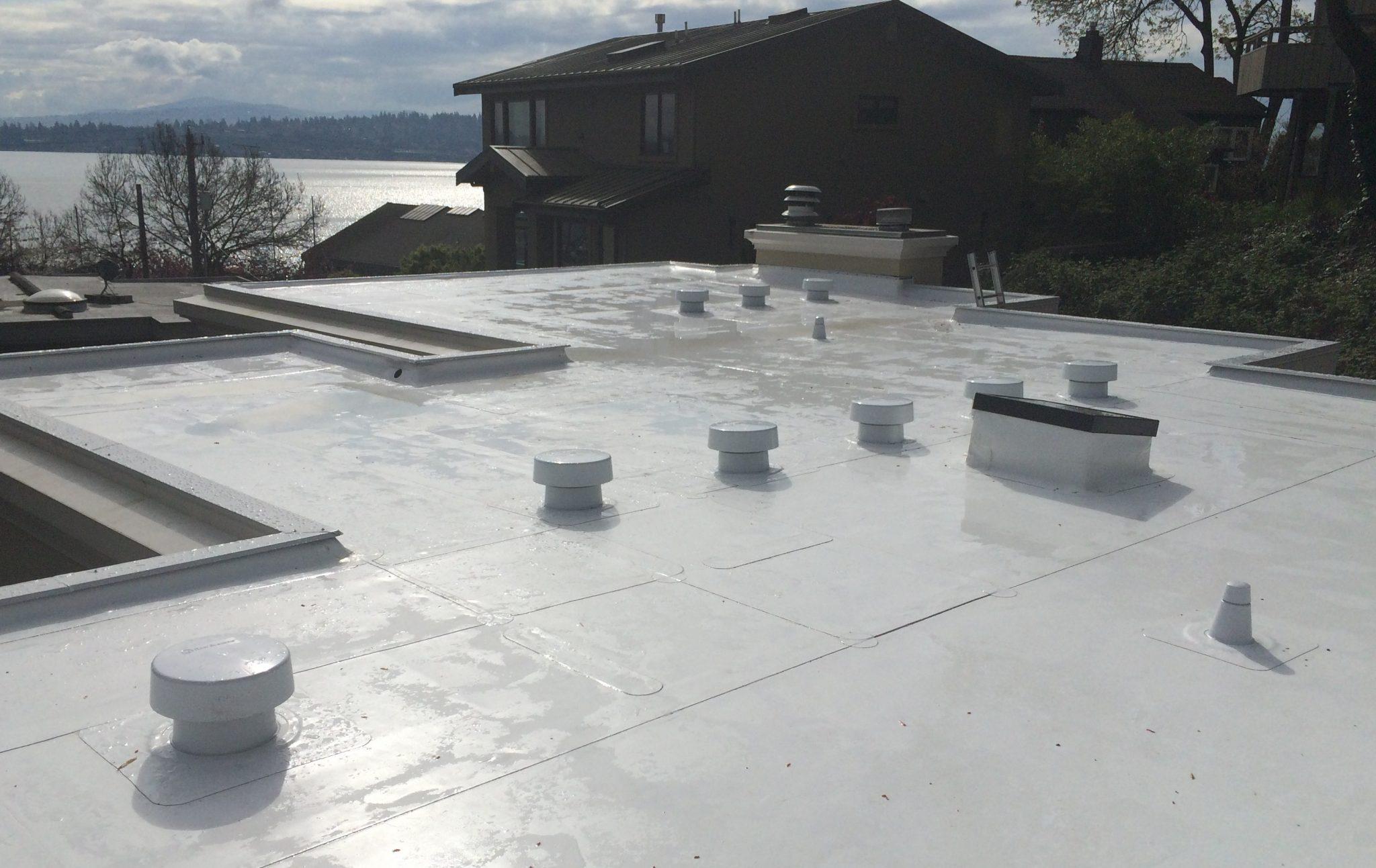 Seattle Pvc Flat Roof Pinnacle Roofing Professioanls Llc