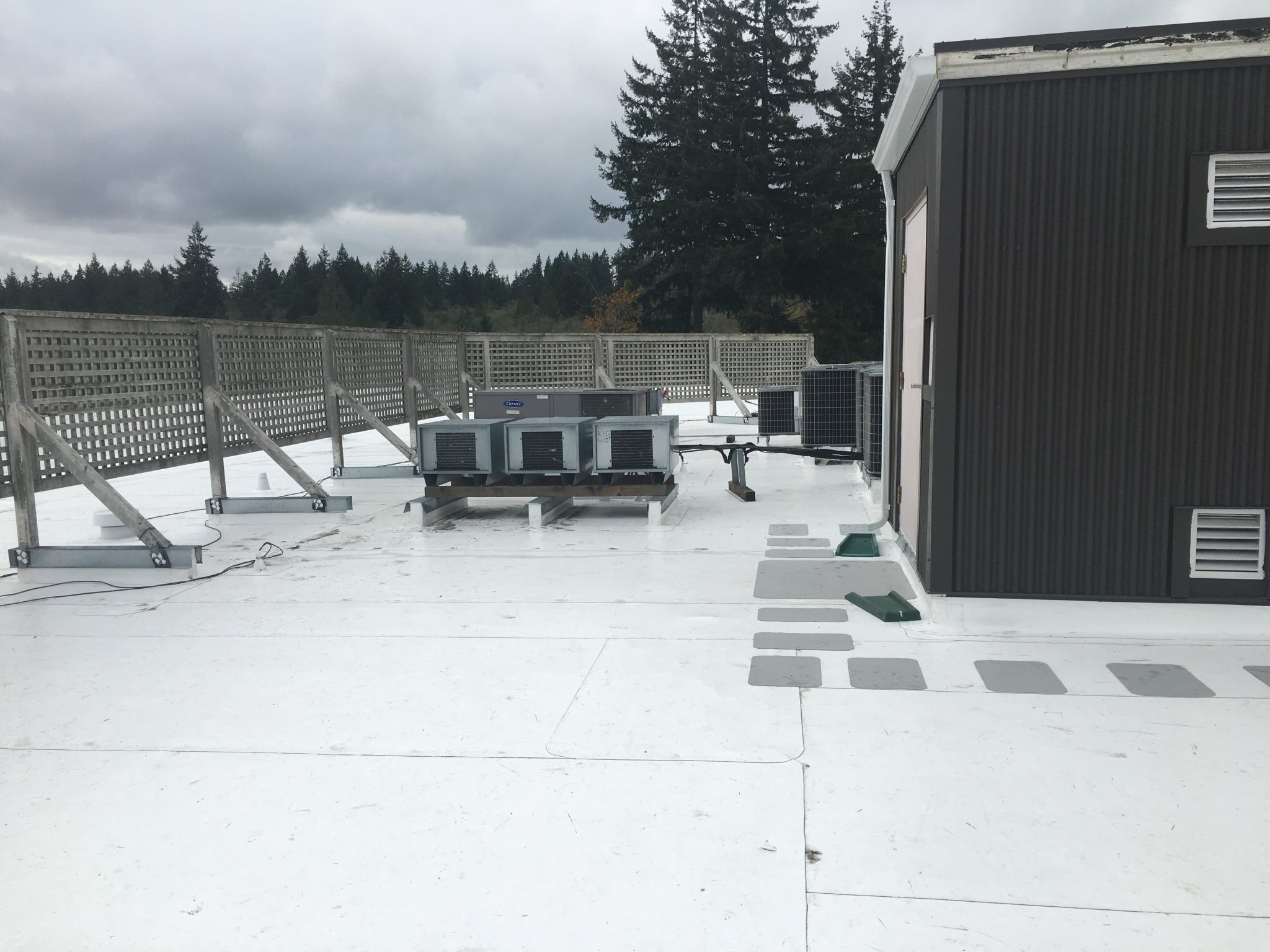 Mill Creek Commercial Flat Roof Pinnacle Roofing
