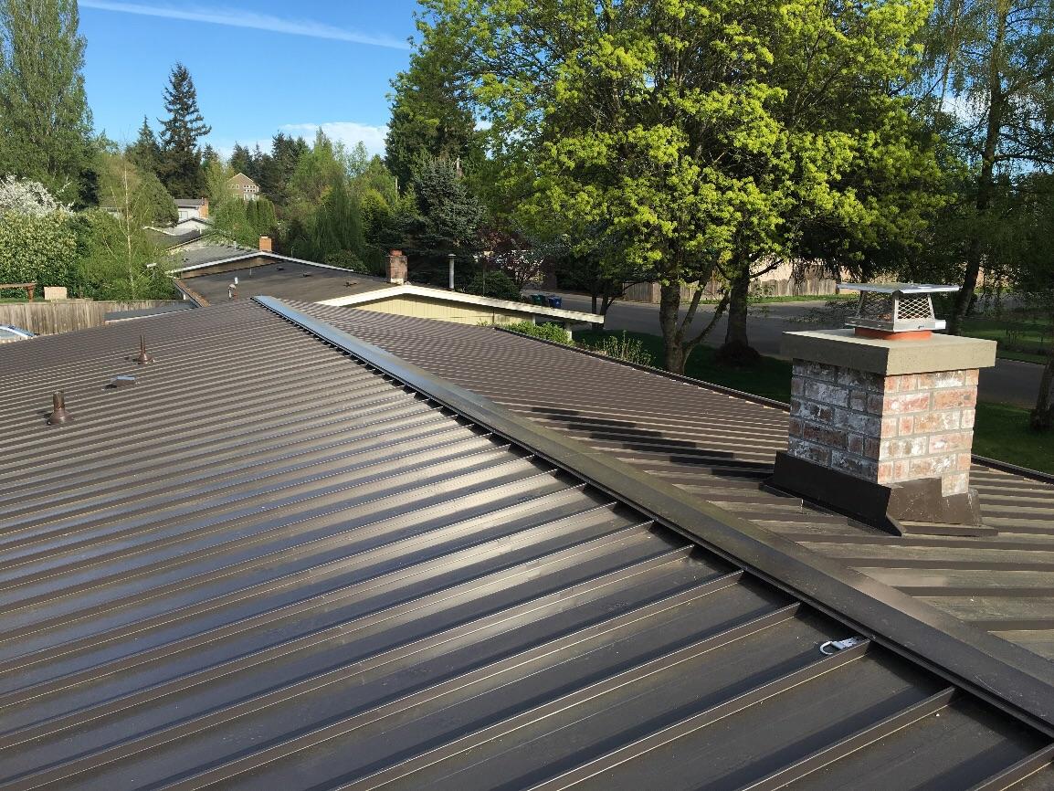 Kirkland Metal Roof Project Pinnacle Roofing
