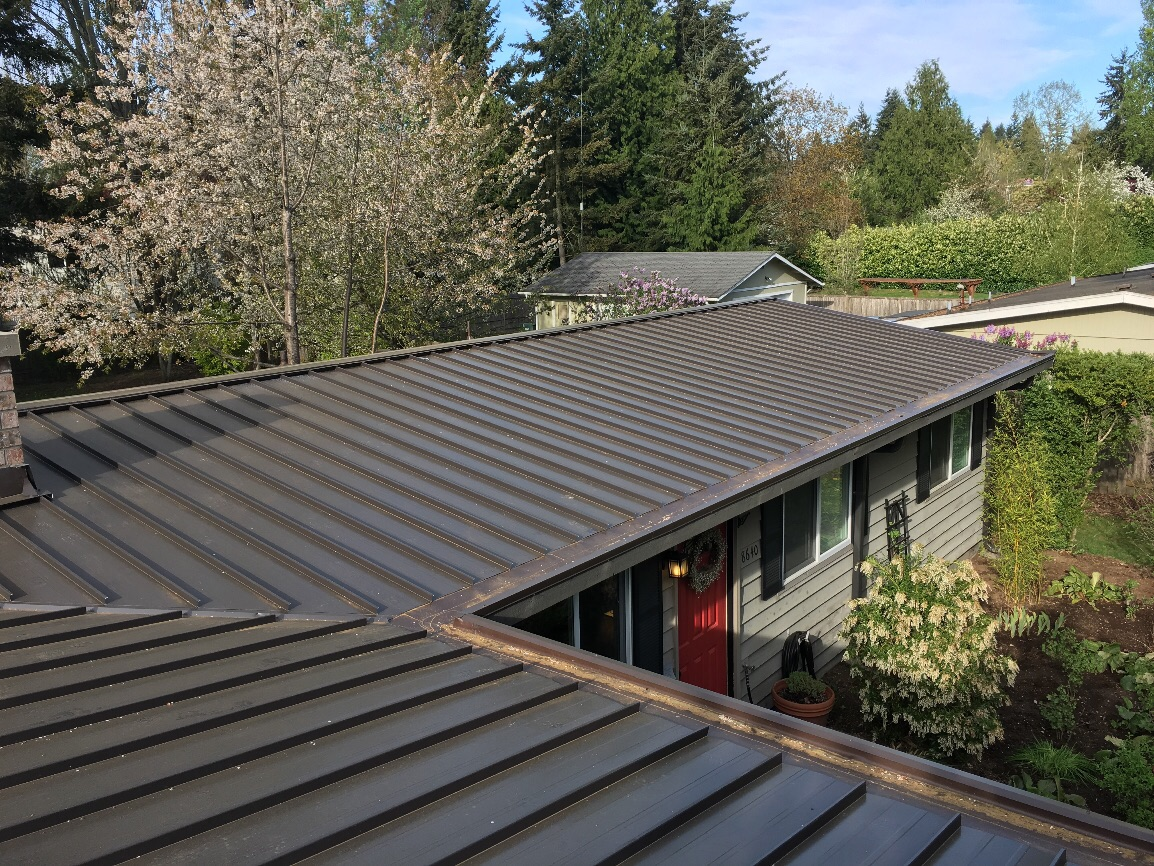 Kirkland Metal Roof Project Pinnacle Roofing