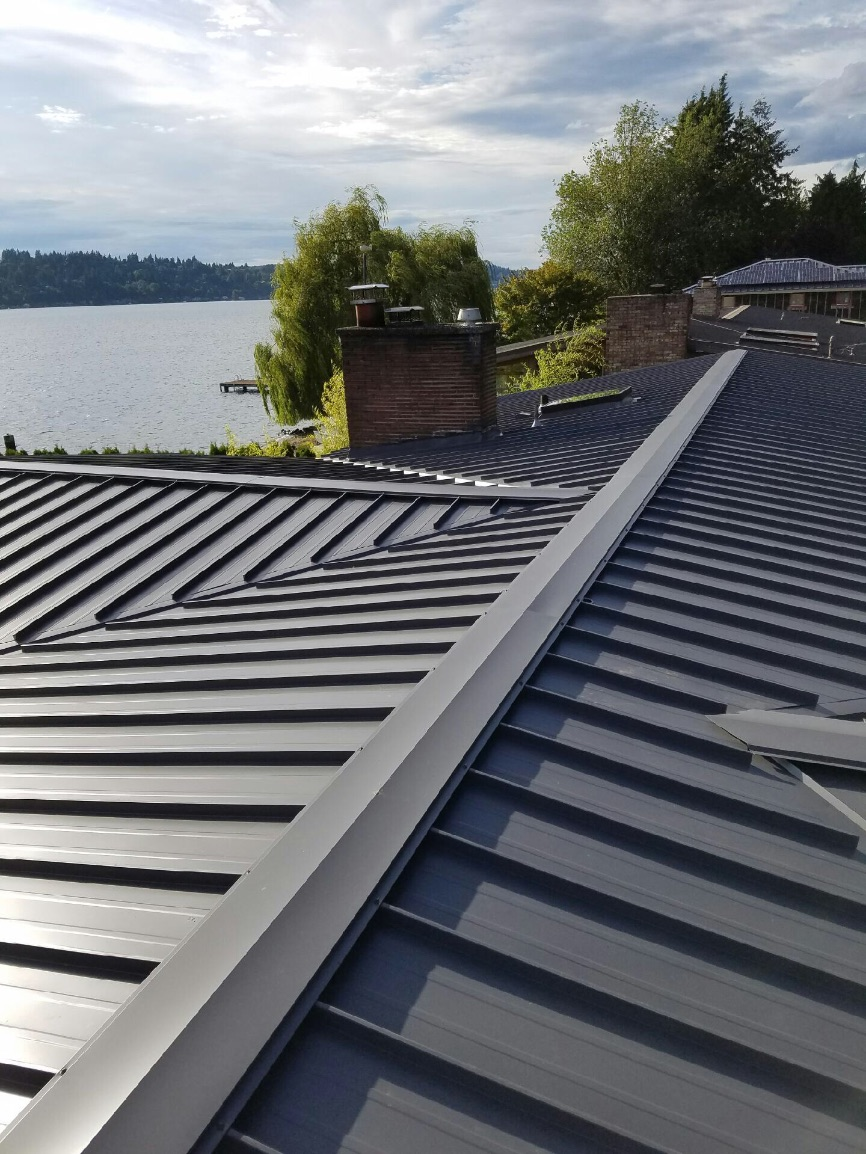 Kirkland Standing Seam Metal Roof Pinnacle Roofing