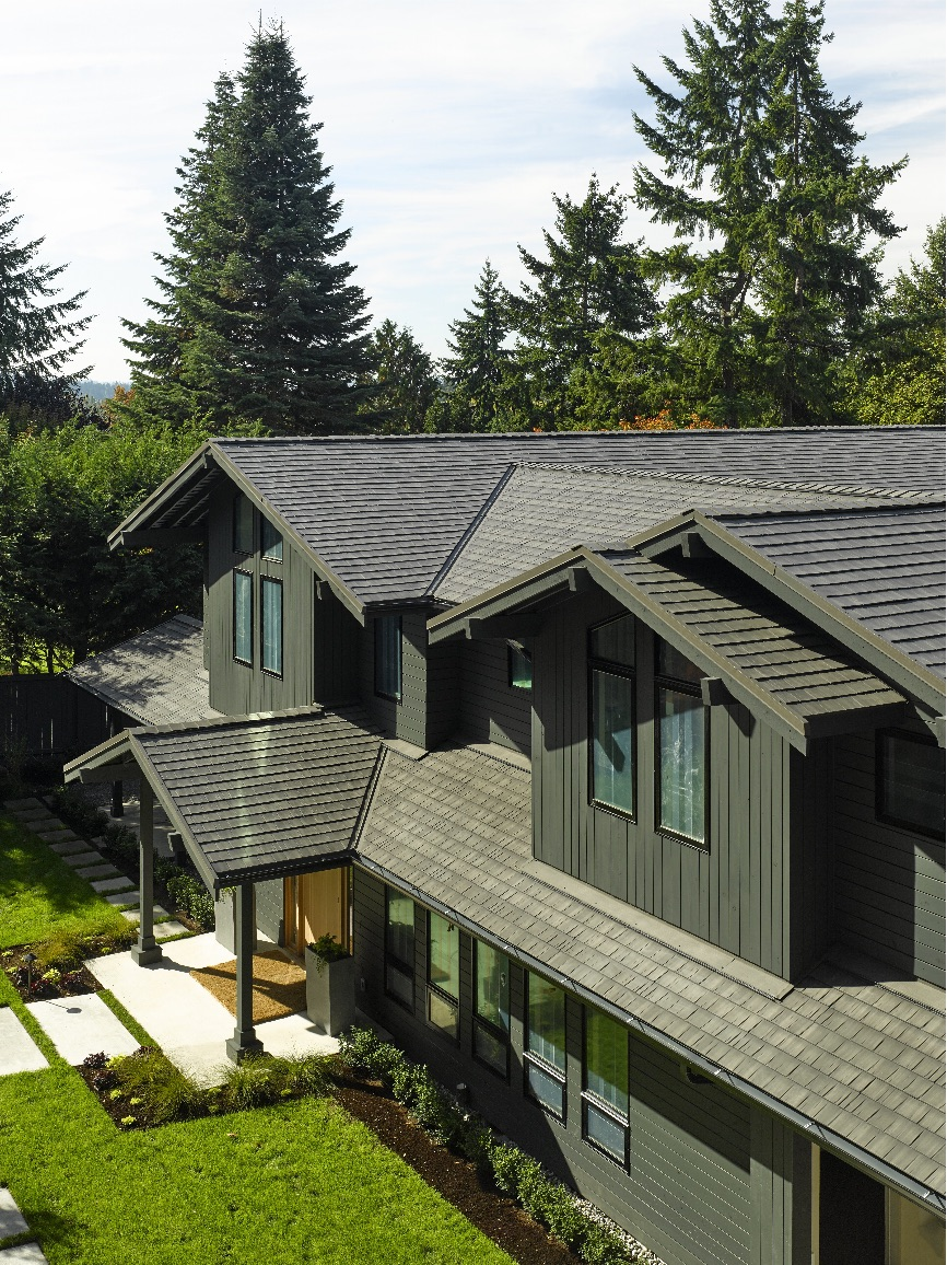 Presidio Metal Roof Shingles Pinnacle Roofing