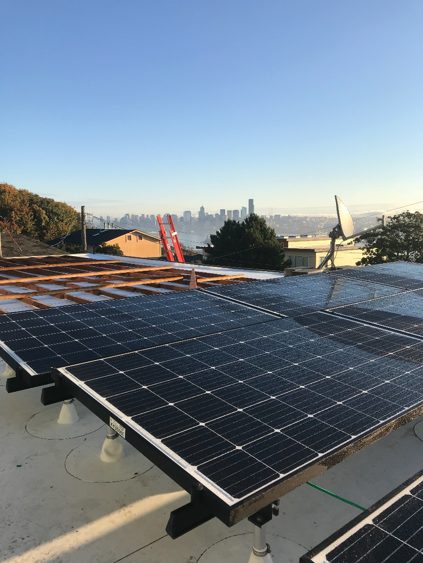 West Seattle Solar Project Pinnacle Roofing